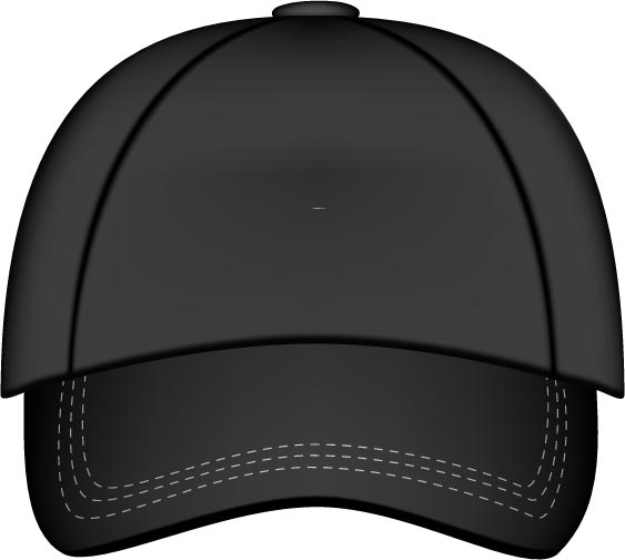 baseball hats vector models rh vector eps com baseball hat vector image baseball hat silhouette vector