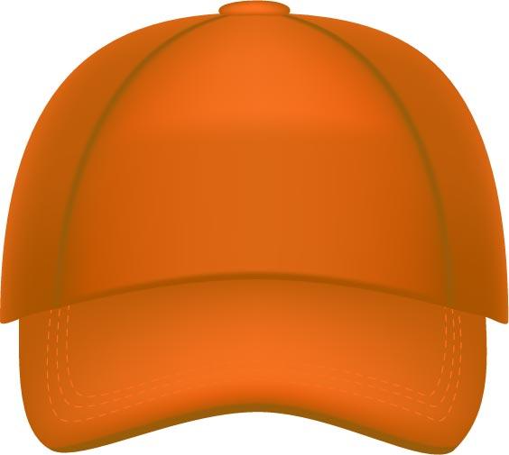 Baseball Hats Vector Models