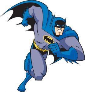 Batman cartoon character vector