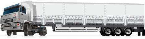 Big truck template