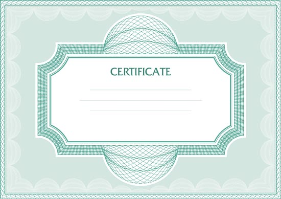 Blank certificates vectors yadclub Image collections