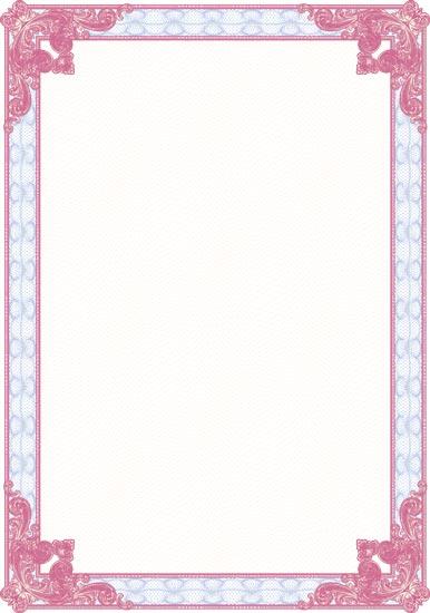 Blank Certificate Template Blank certificates vectors