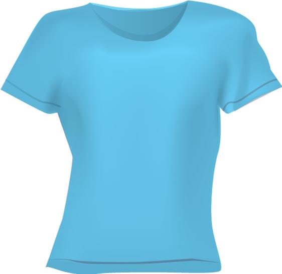 blank clothing vector t shirts