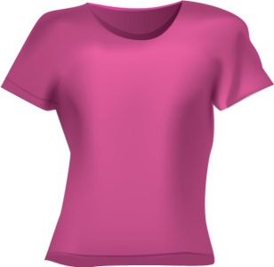 Blank clothing vector t-shirts