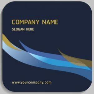 Corporate blue tags vector
