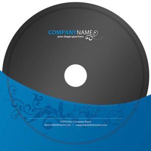 Dvd label corporate identity