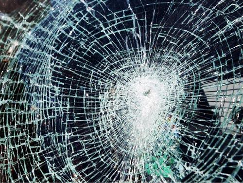broken glass textures effect