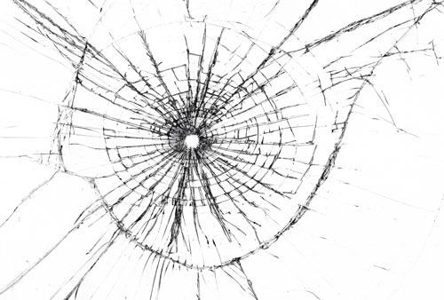 Broken glass textures effect for Image miroir photoshop