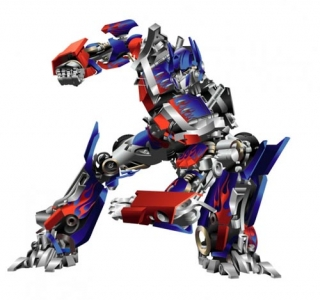optimus prime transformer vector
