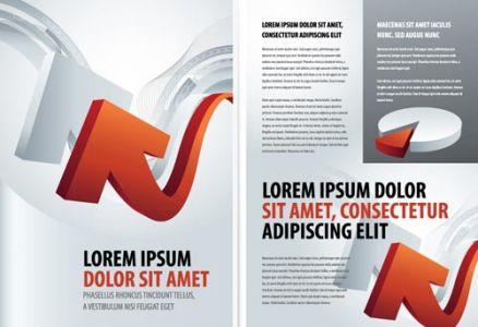 Business brochure vector template