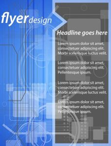Business brochures and flyers vector