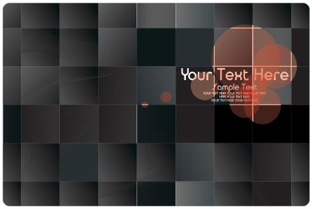 Grids business cards vector