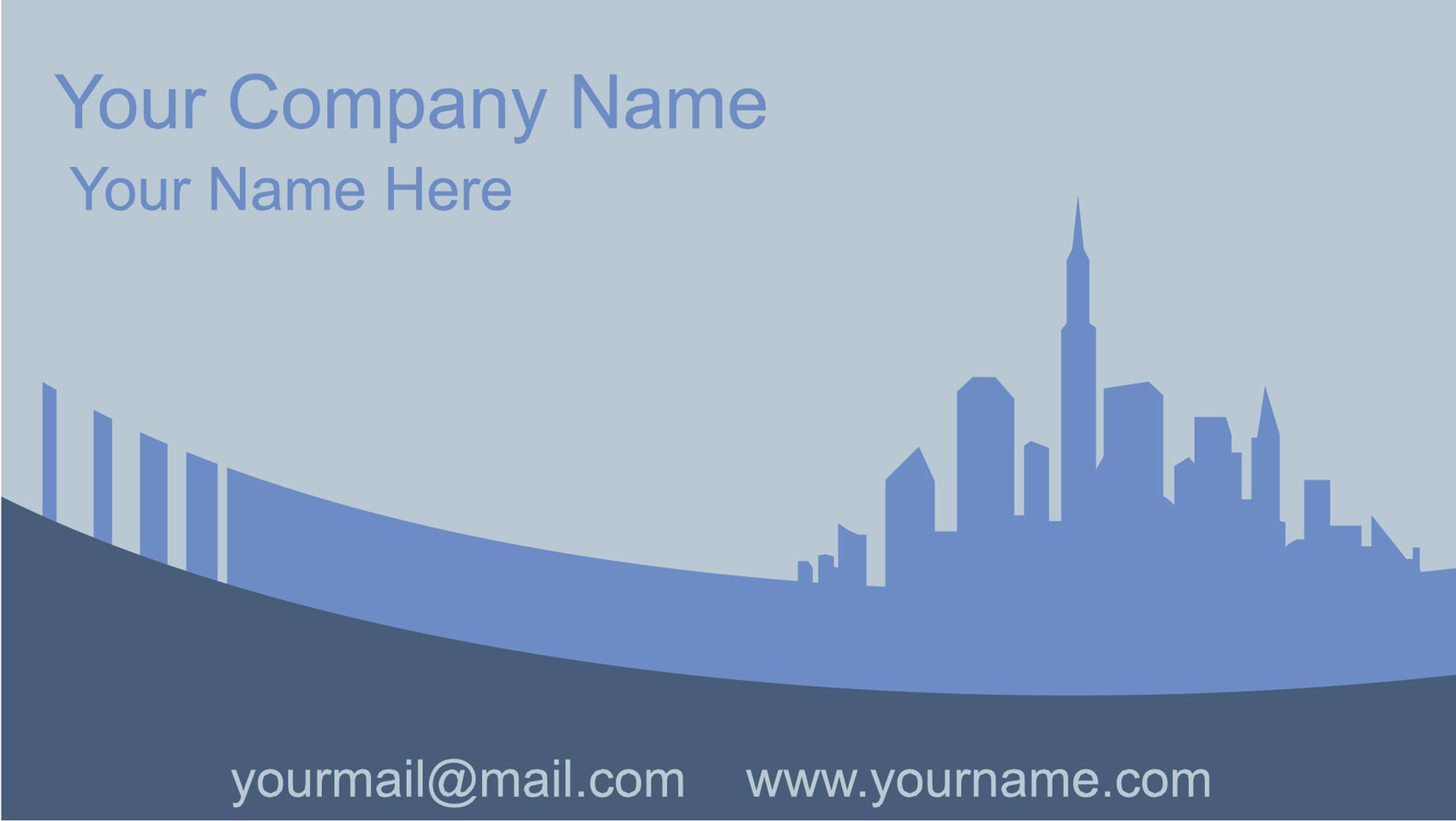 Business cards vector collection city business cards vector reheart Images