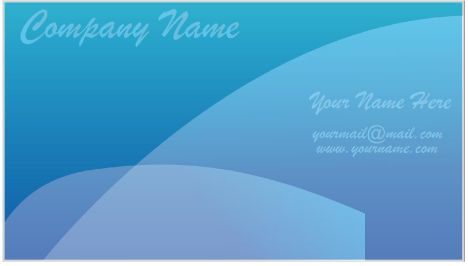Simple business cards vector