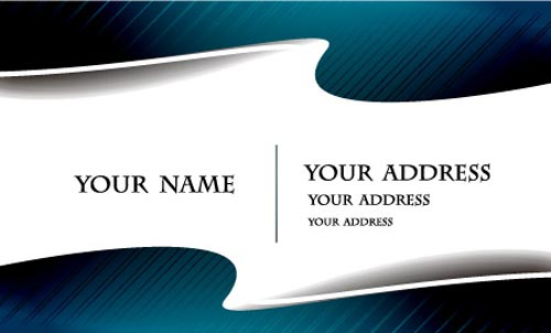 Business cards vector layouts for Business card background vector