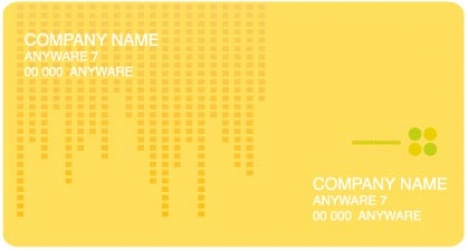 Business cards vector model