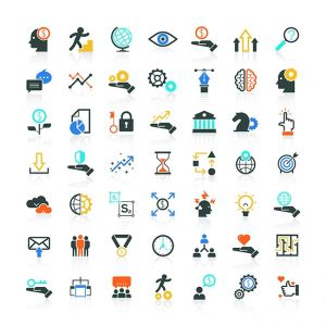 Modern flat icons