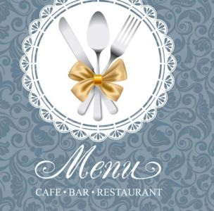 Cafe bar restaurant menu vector