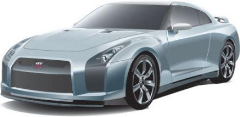 Car model vector