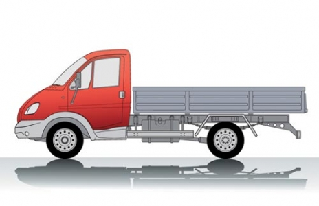 Truck transport vector