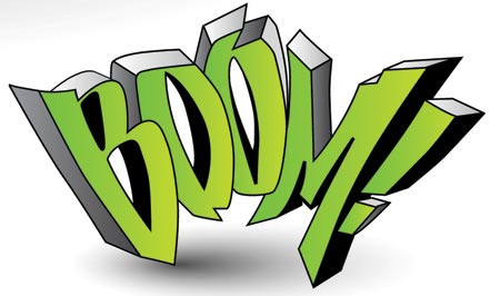 Comic cartoon dialog vector