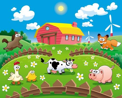 Cartoon Farm Vectors