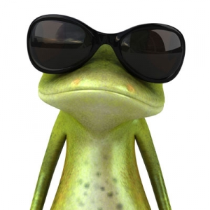 Cartoon frogs image
