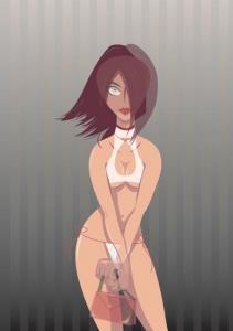 Cartoon girl vector