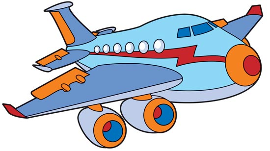 Cartoon Transportation Vectors