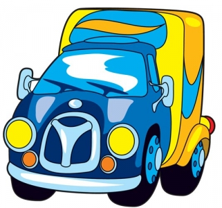 Cartoon transportation vector