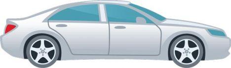 Cartoon vehicles vector shapes