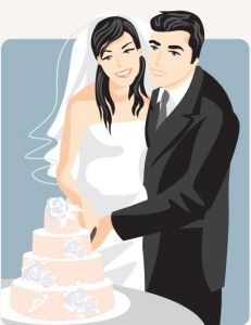 cartoonish-bride-and-groom-vector-card1