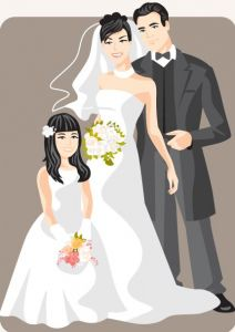cartoonish-bride-and-groom-vector-card5