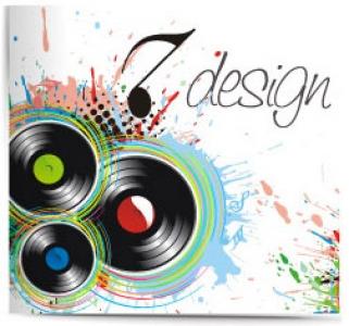 CD cover music