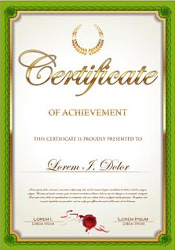 certificate-of-achievement-vector-model3