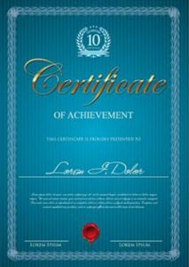 certificate-of-achievement-vector-model1