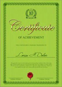 certificate-of-achievement-vector-model4