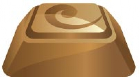 Chocolate vector template