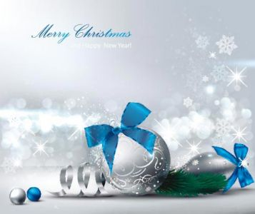 Christmas vector card template