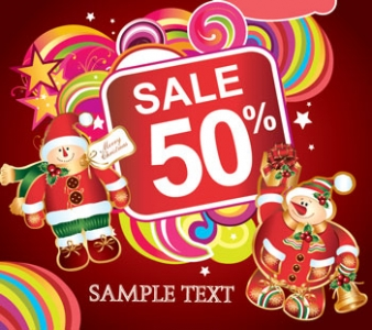 Christmas label discount