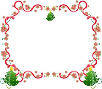 Christmas vector border