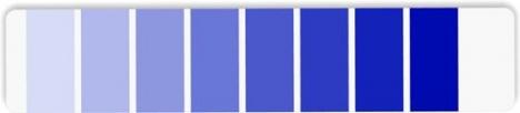 CMYK Pantone palette template