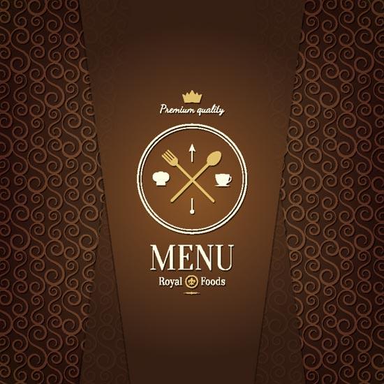 Coffee shop and restaurant menu vectors