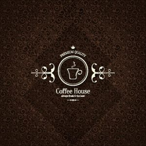 Coffee shop menu vectors
