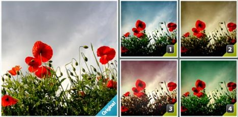 Color maniputalion photoshop action effects