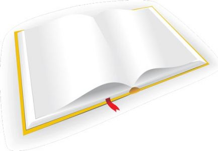 Colored book design vector