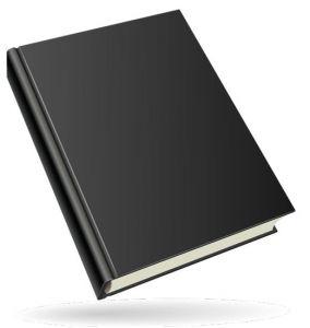 Colored book design template