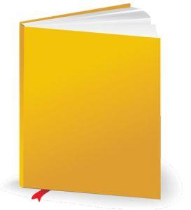 Colored book design vector