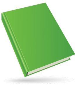 Colored book design template