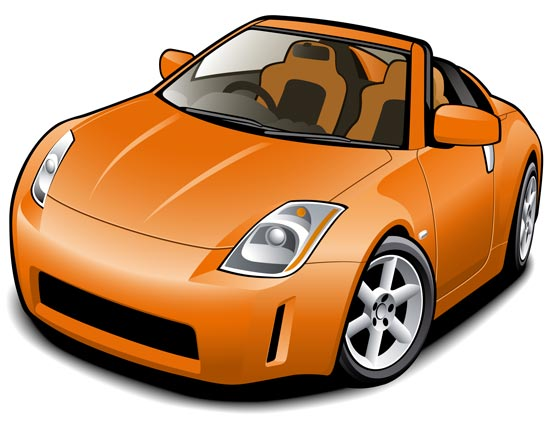 Colored Modern Cars Vector Templates